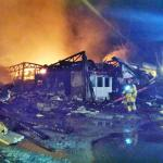 Zeer grote brand in kringloopwinkel Amsterdam