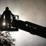 Foto van brandweer hoogwerker | Archief EHF