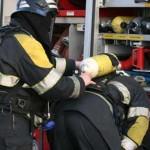 Foto van brandweer met perslucht | Archief EHF