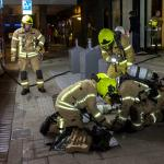 Twee katten omgekomen bij woningbrand Rotterdam