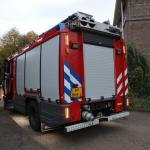 brandweerauto-pand