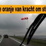 Zware storm op komst, code oranje van kracht