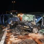Drie doden bij ongeval op N36