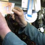 Foto van vals biljet van vijftig euro | Archief EHF
