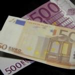 Foto van eurobiljetten geld   Archief EHF