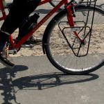 fiets-schaduw