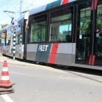tram ontspoort