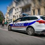 Franse politieauto