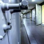 Foto van gevangenis celdeur   Archief EHF