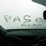 Snelheidsdeken op snelwegen door gladheid