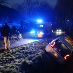 Auto raakt van de weg en belandt in sloot in Sint-Oedenrode