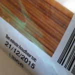 Foto van pasta spaghetti houdbaar datum | Archief EHF