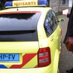 Huisartsenauto met spoed verongelukt op A12 door verloren aanrechtblad