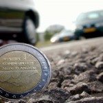 Foto van auto en euro | Archief EHF