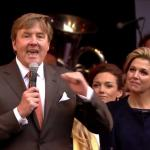 Koning dankt Tilburg voor 'warme' verjaardag