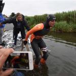 Maarten van der Weijden zwemt weer na korte onderbreking
