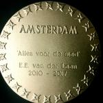 Gouden medaille voor burgemeester Eberhard van der Laan
