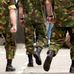 Foto van militairen   Archief EHF