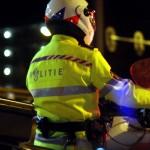 Foto van motoragent in donker | Archief EHF