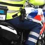 Automobilist rijdt motoragent opzettelijk aan en weet te ontkomen