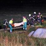 Gewonde bij eenzijdig ongeval op de N374 in Buinerveen
