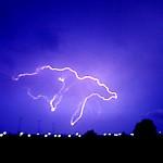 Foto van bliksem onweer | Archief EHF