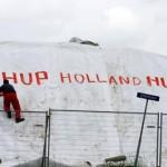 Foto van Oranje gekte | Archief EHF