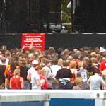 Meerdere mensen betast tijdens Parkpop Den Haag