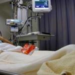 Foto van patiënt in ziekenhuis bed | Archief EHF