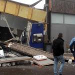 Veel schade bij plofkraak in Uithoorn