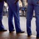 Foto van politie agenten demonstratie | Archief EHF