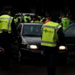 Foto van politie controle donker | Archief EHF