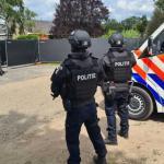 politie-drugslab-bewaking