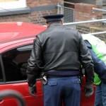 Foto van politie auto controle | Archief EHF