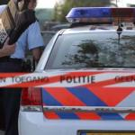 Foto van politie met kogelwerend vest | archief EHF