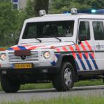 politieauto-gepantserd