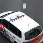 botsing politieauto
