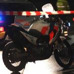 Motorblok uit auto geslingerd bij crash na achtervolging