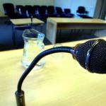 Rechtbankmicrofoon