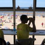 Reddingsbrigade waarschuwt voor sterke stroming in zee