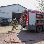 Brandweer voert inspectie uit