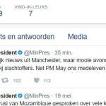 Rutte reageert op bloedige aanslag Manchester