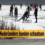Nederland masaal op de schaats