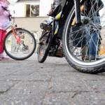 Foto van kind fiets | Archief EHF