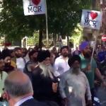 Wake Manchester-aanslag verstoord door man met bijl