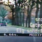 Jongen (17) scheurt 102 km/u met 25-kilometerauto