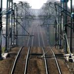 Bommelder internationale trein langer vast