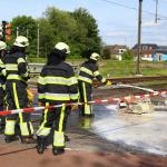 Ongeval op dubbele overweg Boxtel