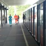 Dode bij steekpartij in metro Amsterdam