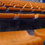 Foto van stoeltjes in voetbalstadion | Archief EHF